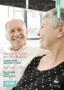St. Ives Retirement Living - Thrive Magazine - Issue 2