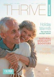 St Ives Retirement Living - Thrive Magazine - Winter 2017