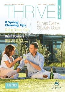 St Ives Retirement Living - Thrive Magazine - Spring 2017