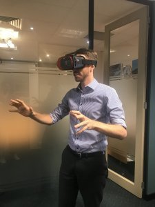 Andy tries a Virtual Reality tour of St Ives Carine