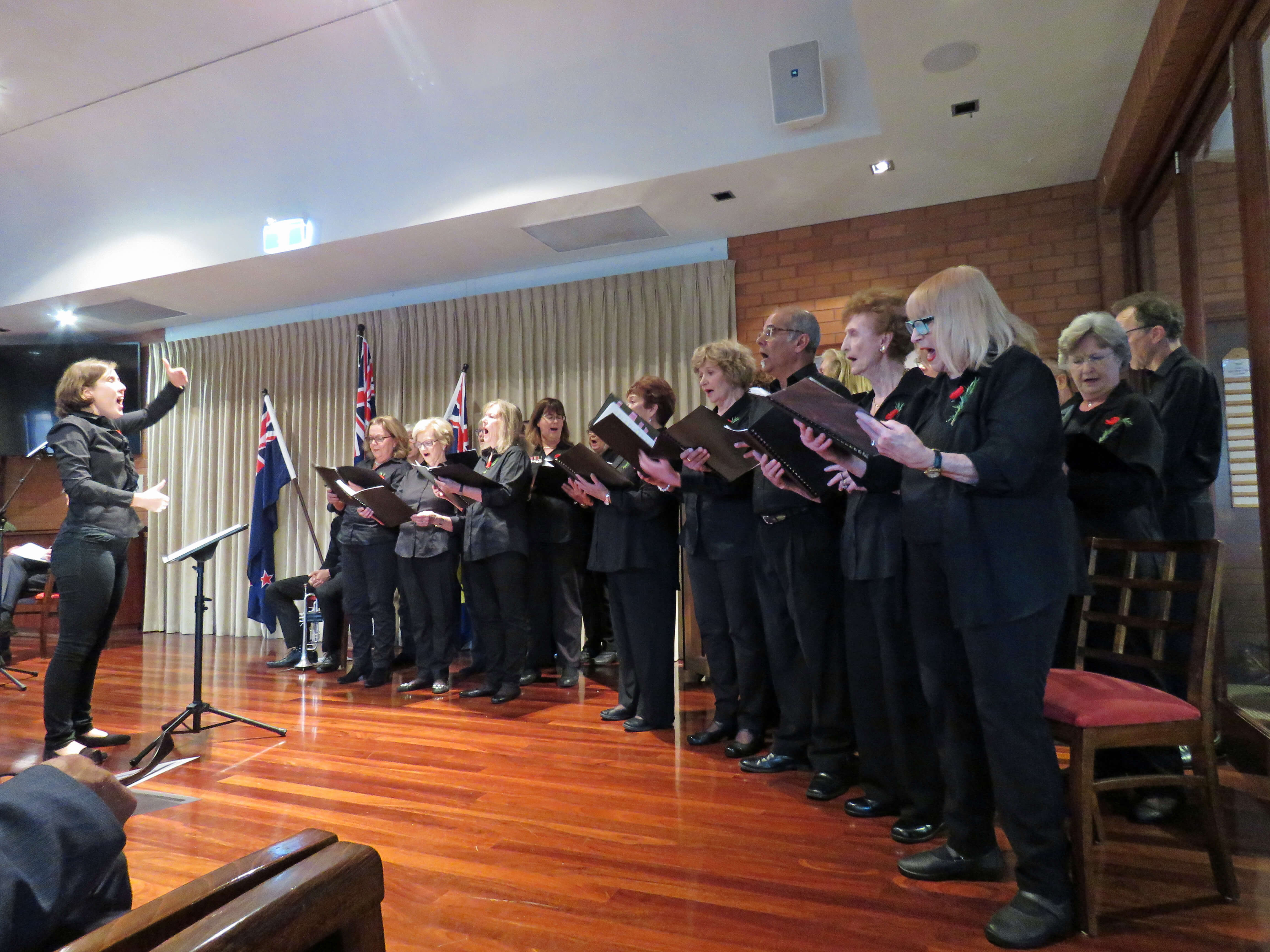 St Ives Centro Anzac Day